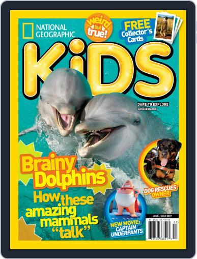 National Geographic Kids (Digital) June 1st, 2017 Issue Cover