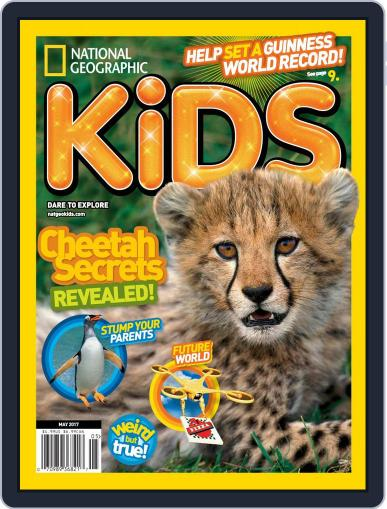 National Geographic Kids (Digital) May 1st, 2017 Issue Cover