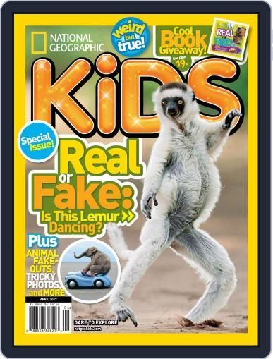 National Geographic Kids (Digital) April 1st, 2017 Issue Cover