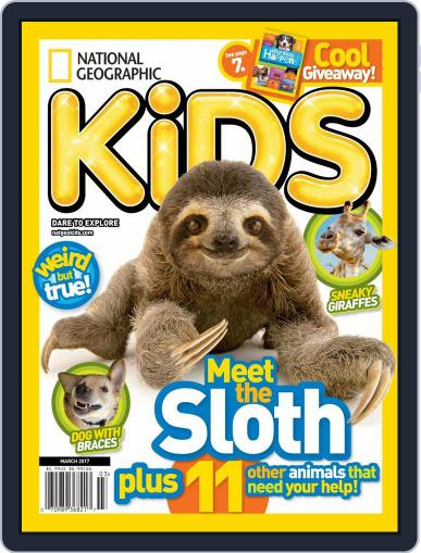 National Geographic Kids (Digital) March 1st, 2017 Issue Cover