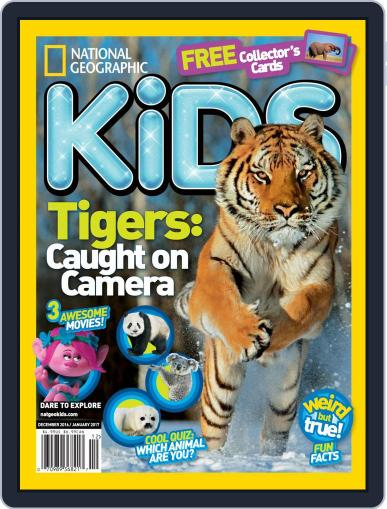 National Geographic Kids (Digital) December 1st, 2016 Issue Cover