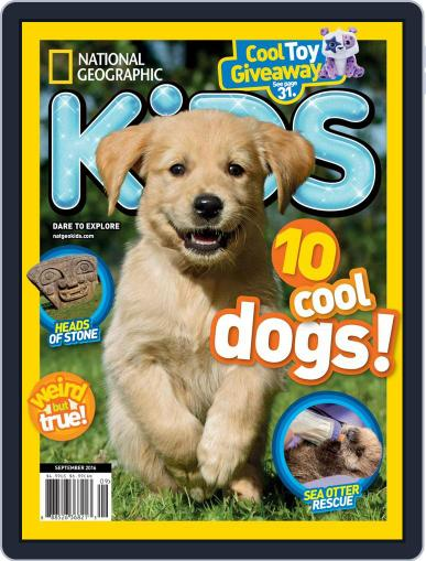 National Geographic Kids (Digital) September 1st, 2016 Issue Cover