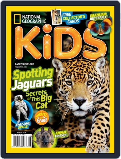 National Geographic Kids (Digital) August 1st, 2016 Issue Cover