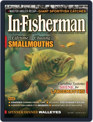 In-Fisherman July 1st, 2020 Digital Back Issue Cover