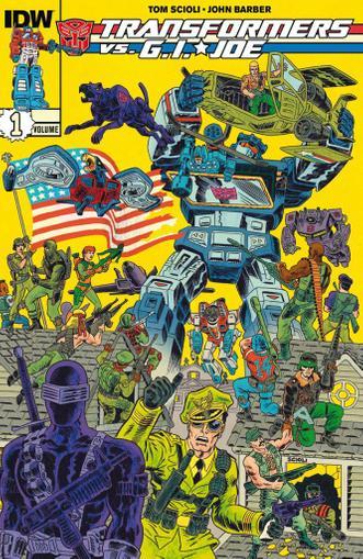 Transformers vs. G.I. Joe Magazine (Digital) February 1st, 2015 Issue Cover