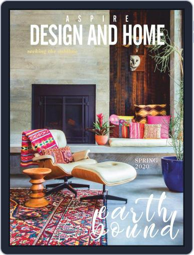 ASPIRE DESIGN AND HOME (Digital) March 1st, 2020 Issue Cover