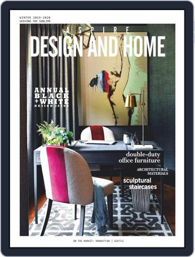 ASPIRE DESIGN AND HOME (Digital) December 1st, 2019 Issue Cover