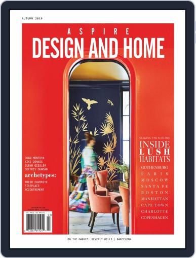ASPIRE DESIGN AND HOME (Digital) August 1st, 2019 Issue Cover