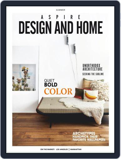 ASPIRE DESIGN AND HOME (Digital) May 1st, 2019 Issue Cover