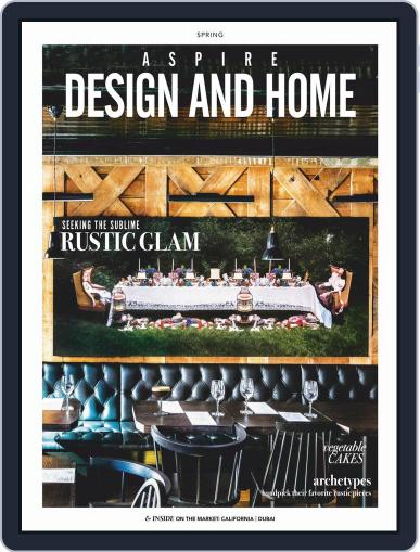 ASPIRE DESIGN AND HOME (Digital) April 1st, 2019 Issue Cover