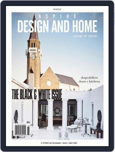 ASPIRE DESIGN AND HOME (Digital) January 1st, 2019 Issue Cover