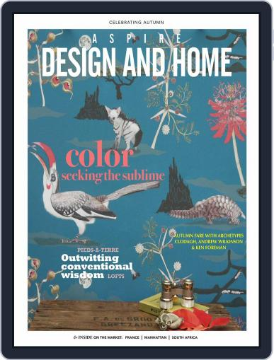 ASPIRE DESIGN AND HOME (Digital) September 1st, 2018 Issue Cover