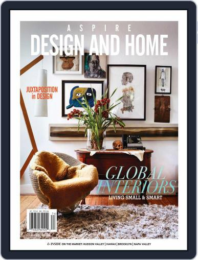 ASPIRE DESIGN AND HOME (Digital) March 7th, 2018 Issue Cover
