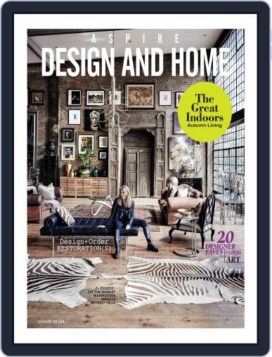 ASPIRE DESIGN AND HOME (Digital) December 7th, 2017 Issue Cover