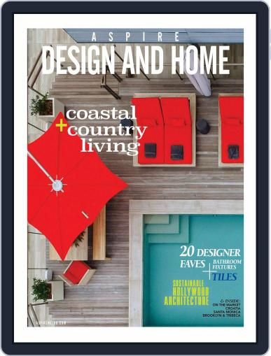 ASPIRE DESIGN AND HOME (Digital) September 7th, 2017 Issue Cover