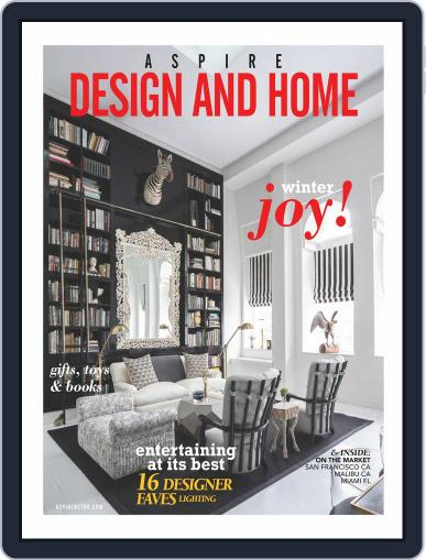 ASPIRE DESIGN AND HOME (Digital) March 7th, 2017 Issue Cover