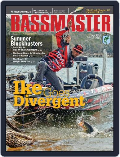 Bassmaster (Digital) June 30th, 2014 Issue Cover