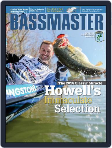 Bassmaster (Digital) April 1st, 2014 Issue Cover