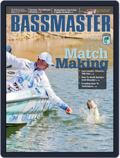 Bassmaster (Digital) March 31st, 2014 Issue Cover