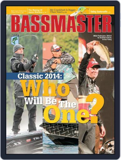 Bassmaster (Digital) February 28th, 2014 Issue Cover