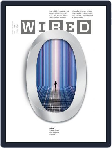 Wired Italia (Digital) June 1st, 2020 Issue Cover