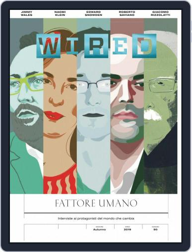 Wired Italia (Digital) September 1st, 2019 Issue Cover
