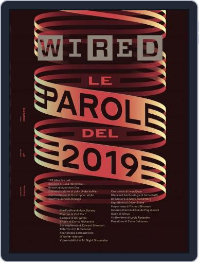Wired Italia (Digital) December 1st, 2018 Issue Cover