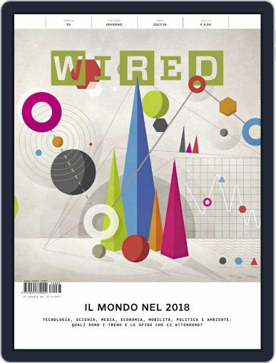 Wired Italia (Digital) December 1st, 2017 Issue Cover