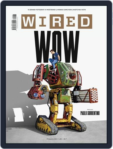 Wired Italia (Digital) March 23rd, 2017 Issue Cover