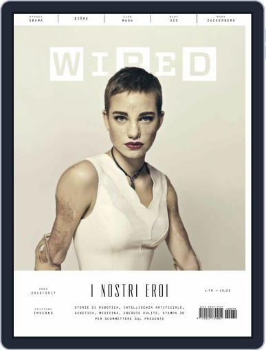 Wired Italia (Digital) December 1st, 2016 Issue Cover