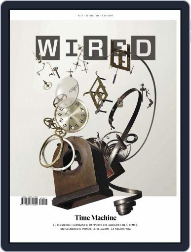 Wired Italia (Digital) June 9th, 2016 Issue Cover
