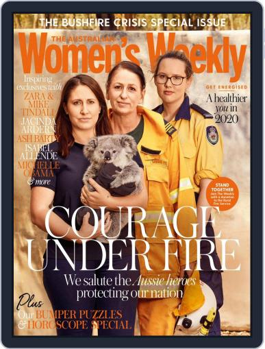 The Australian Women's Weekly January 1st, 2020 Digital Back Issue Cover