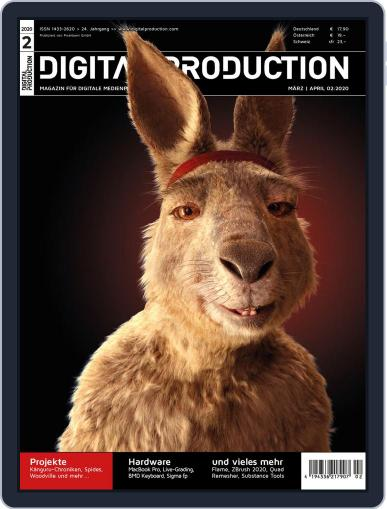 Digital Production March 1st, 2020 Issue Cover