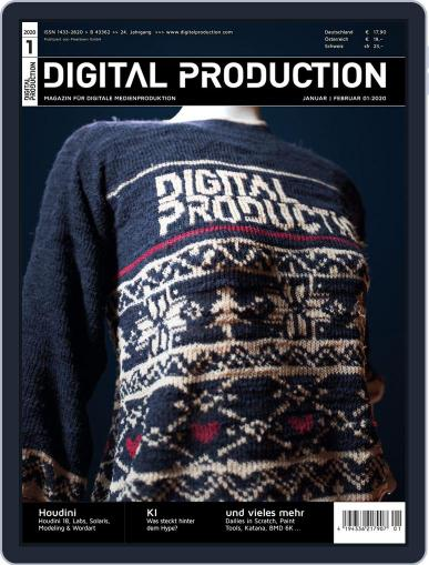 Digital Production January 1st, 2020 Issue Cover