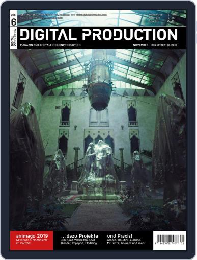 Digital Production November 3rd, 2019 Issue Cover