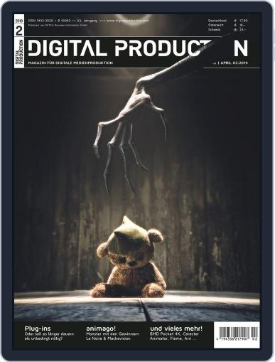 Digital Production February 1st, 2019 Issue Cover