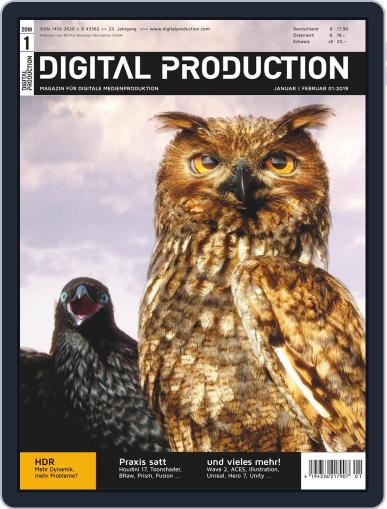 Digital Production January 1st, 2019 Issue Cover
