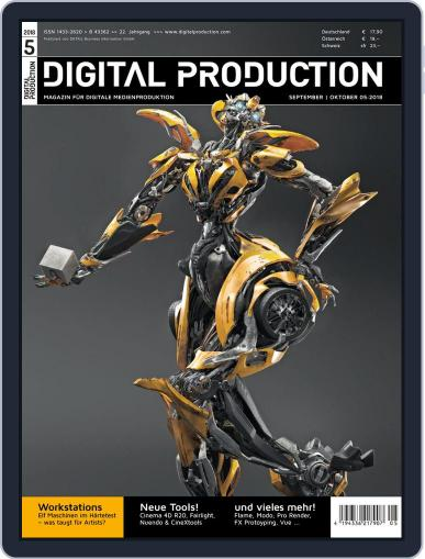 Digital Production September 1st, 2018 Issue Cover