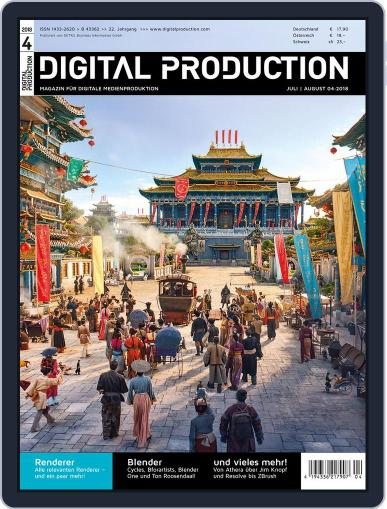Digital Production July 25th, 2018 Issue Cover