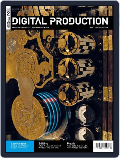 Digital Production February 23rd, 2018 Issue Cover