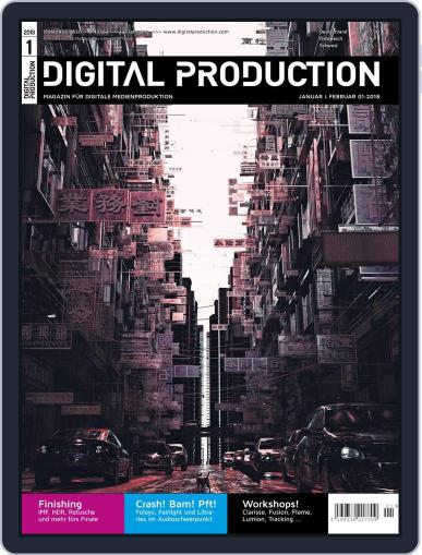 Digital Production January 1st, 2018 Issue Cover