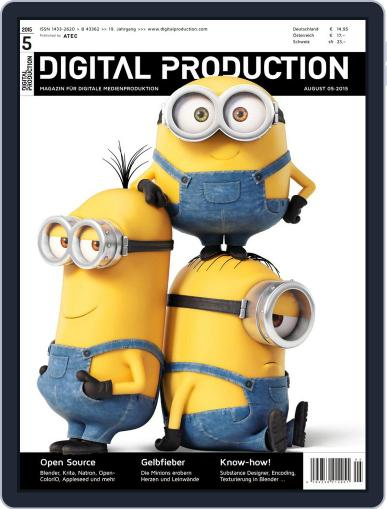 Digital Production August 1st, 2015 Issue Cover