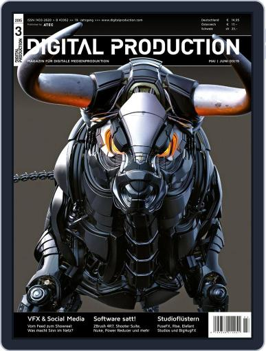 Digital Production April 2nd, 2015 Issue Cover