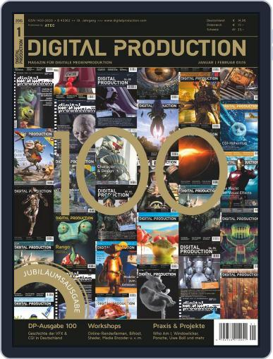 Digital Production December 5th, 2014 Issue Cover