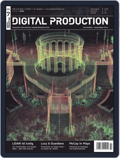 Digital Production October 17th, 2014 Issue Cover