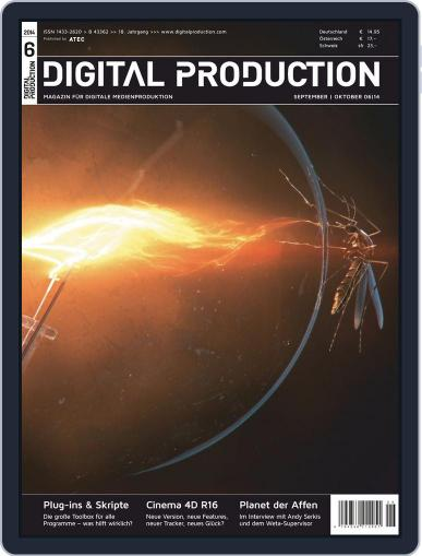 Digital Production August 29th, 2014 Issue Cover