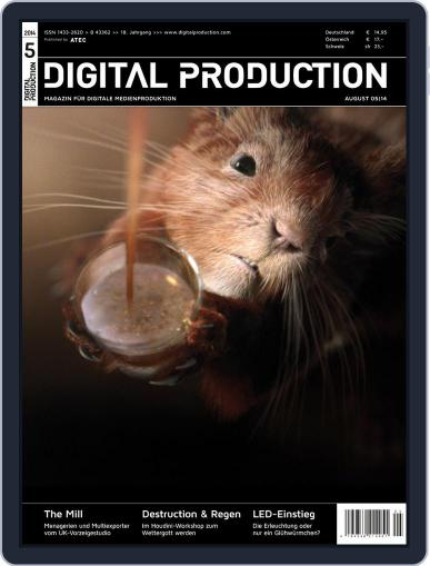 Digital Production July 11th, 2014 Issue Cover
