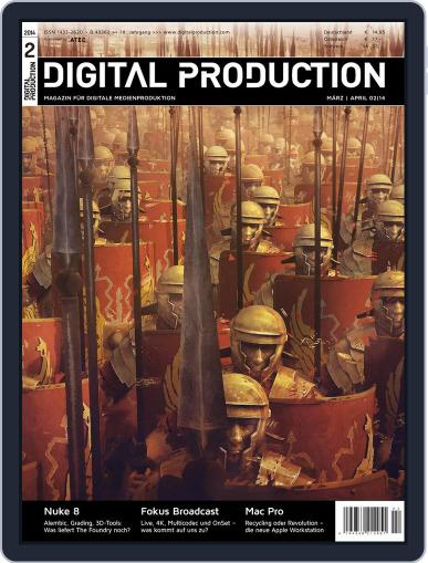 Digital Production February 14th, 2014 Issue Cover