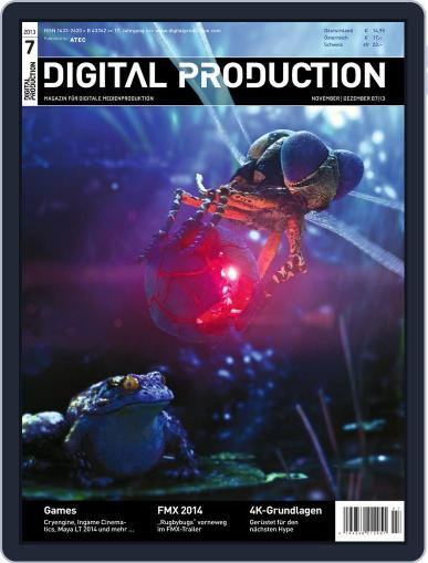 Digital Production October 21st, 2013 Issue Cover