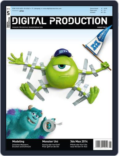 Digital Production July 15th, 2013 Issue Cover